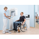 VistaPano S in use with a patient in a wheelchair