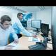 Mitarbeiter der DÜRR DENTAL Service Hotline im Einsatz
