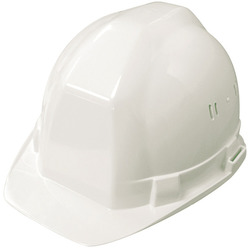 CASQUE DE CHANTIER BLANC