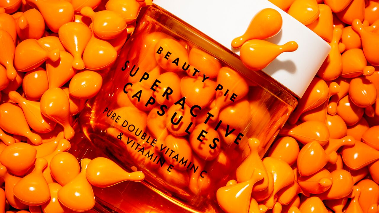 Superactive Capsules Pure Double Vitamin C and Vitamin E Serum
