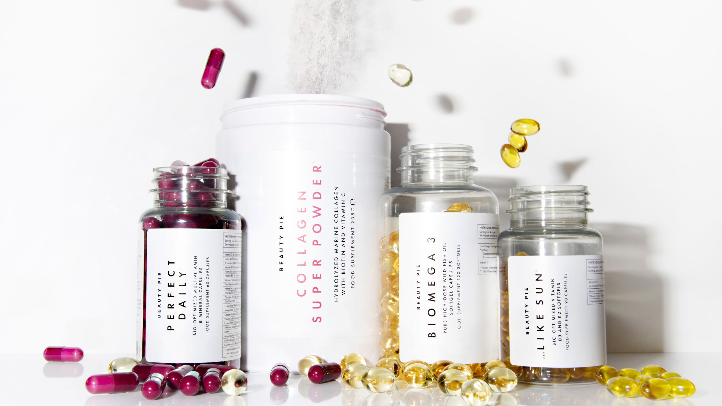 BEAUTY PIE New Supplements and Vitamins