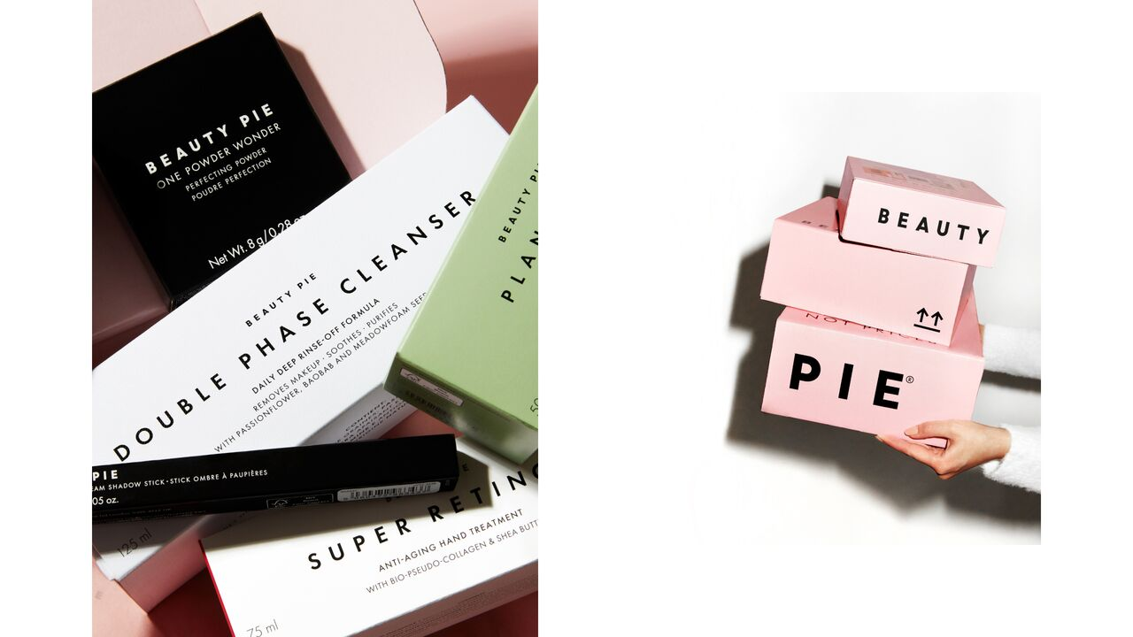 BEAUTY PIE Boxed Packaging
