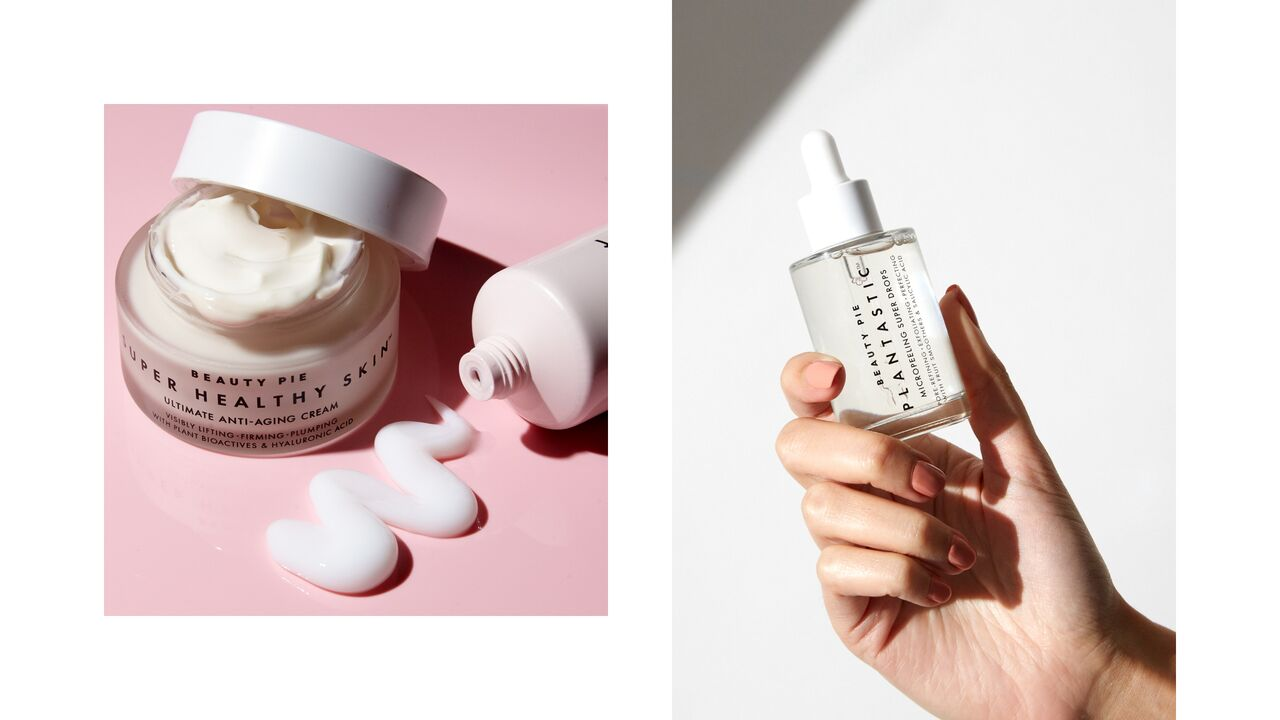 BEAUTY PIE Anti-ageing Cream and Plantastic