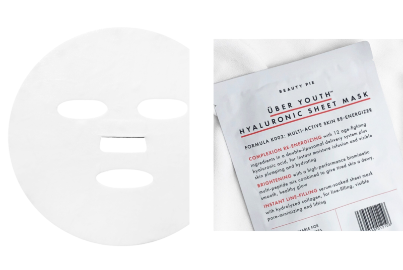 Uber Youth Hyaluronic Sheet Mask