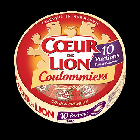 COEUR DE LION COULOMMIERS 10 PORTIONS 350G