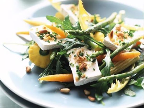 Recettes légères au fromage :  Concombres farcis au balsamique et fromage frais