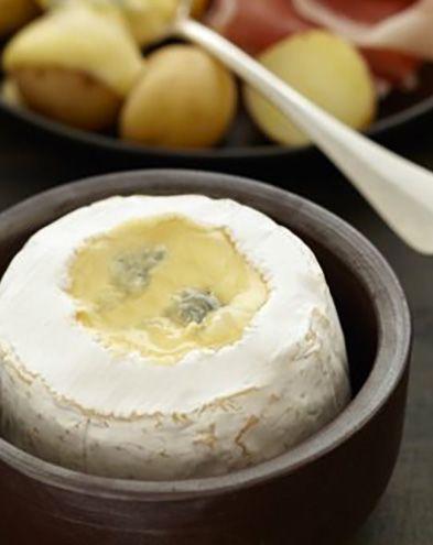 Du fromage pour twister mes légumes d'été :  Bleu de bresse au four