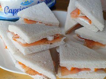 Recette : Clubs snack de la mer au fromage - Recette au fromage