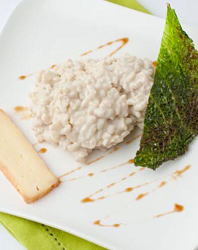 Recettes pas chères :  Risotto au vin blanc et à la Crème de Maroilles