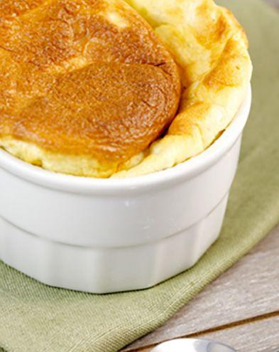 Recettes françaises :  Soufflés au camembert