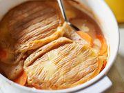 Recette : Tartiflette au munster et carottes - Recette au fromage