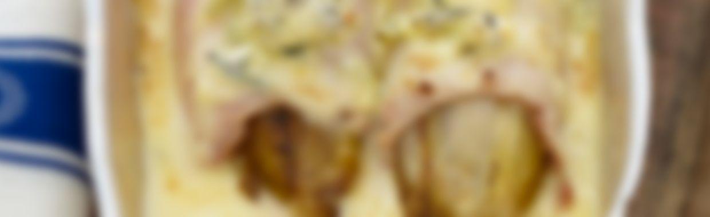 Recette Endives gratinées au bleu - Recette au fromage