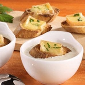 Recette : Crème d'endives au maroilles - Recette au fromage