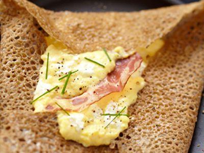 Recette : Galette gourmande au fromage frais - Recette au fromage