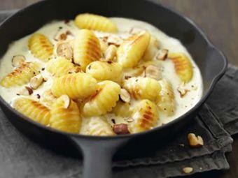 Recette : Gnocchi à la crème de fromages italiens - Recette au fromage