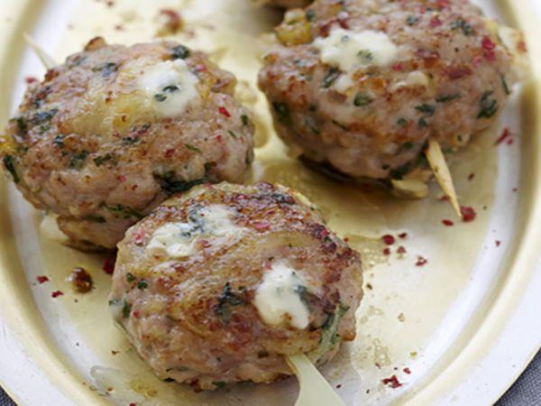 Recette : Boulettes façon kefta au bleu - Recette au fromage