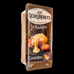RICHES MONTS RACLETTE CARACTERE TRANCHETTES 420G