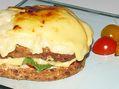Recette : Croques poulet, tomate, oignon et fromage - Recette au fromage