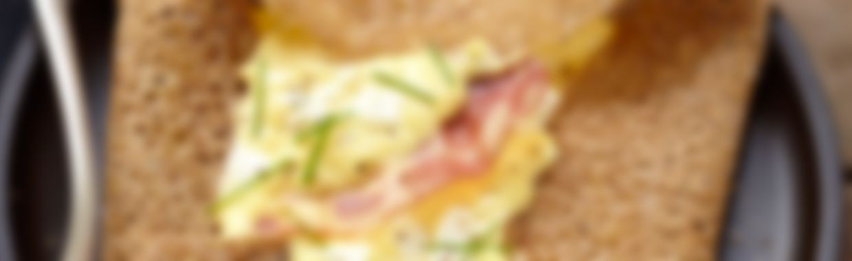 Recette Galette gourmande au fromage frais - Recette au fromage
