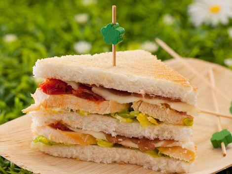 Sandwichs : Club-sandwich: tendre casse-croûte