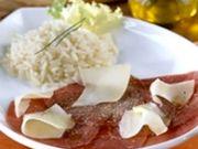Recette : Carpaccio de bœuf au fromage - Recette au fromage