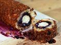 Recette : Bûche de Noël au Saint Agur®, confiture de myrtilles et pain d'épices...
