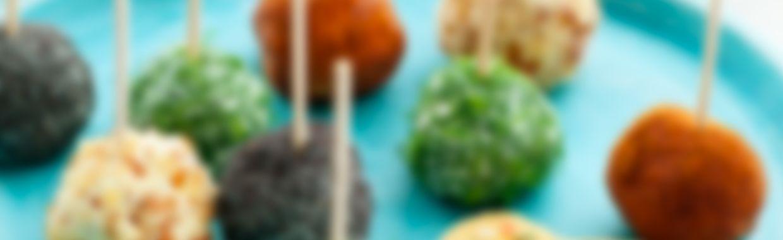 Recette Billes de fromage frais et saumon aux épices - Recette au fromage