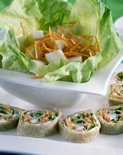 Recettes de crêpes et galettes :  Médaillons bretons au fromage frais