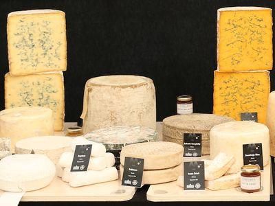 Le plus grand plateau de fromages
