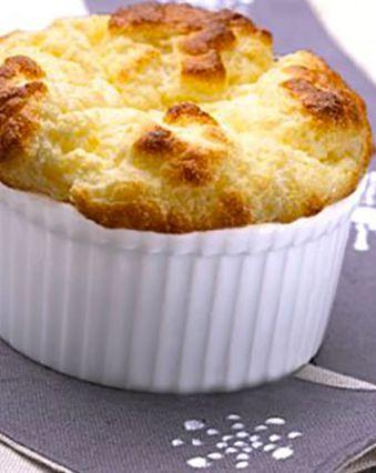 Soufflés au fromage :  Petits soufflés au bleu