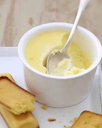 Recettes pas chères :  Petits pots de crème au citron au fromage frais