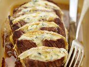 Recette : Rôti de boeuf au bleu - Recette au fromage