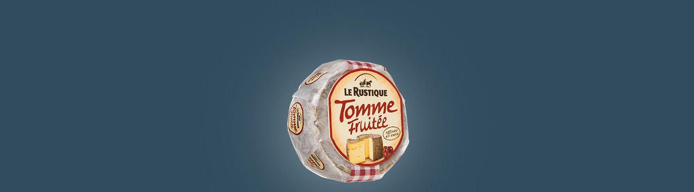 LE RUSTIQUE TOMME FRUITEE 280G : caractéristiques et apports nutritionnels