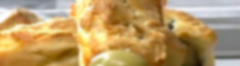 Recette Financiers aux olives et au fromage - Recette au fromage
