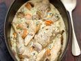 Recette : Blanquette de poulet au bleu - Recette au fromage