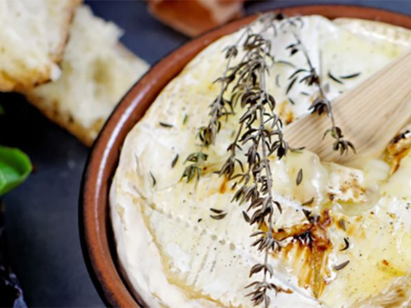 Recette : Camembert au four - Recette au fromage