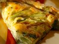 Recette : Flamiche picarde aux poireaux au fromage frais - Recette au fromage