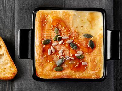 Recette : Maroilles au four, façon fondue au fromage - Recette au fromage