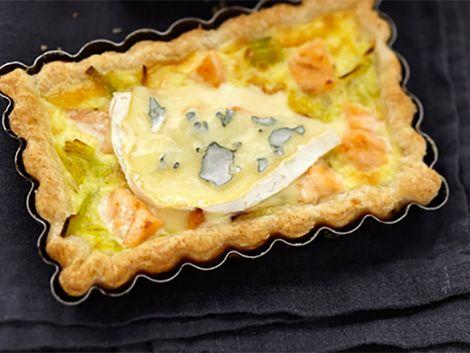 Tartes salées et sucrées au fromage : Tarte au fromage bleu : du goût avant tout !