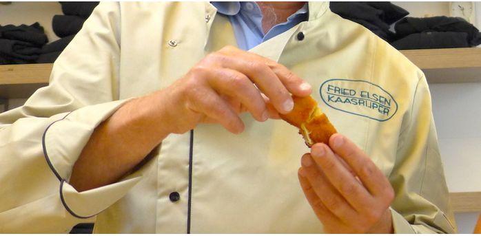 Fried Elsen fait son numéro de croquettes