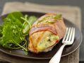 Recette : Poulet grillé au bleu - Recette au fromage