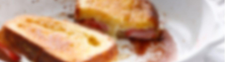 pain perdu brioch au fromage et aux fraises recette au fromage. Black Bedroom Furniture Sets. Home Design Ideas