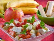 Recette : Salade de fruits au fromage frais - Recette au fromage