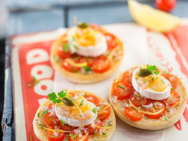 Recette : Muffins au haddock, tomate et fromage - Recette au fromage