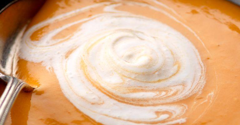 Recettes de soupes : Soupe de potiron: je veux du crémeux!