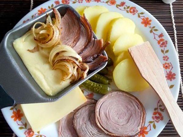 Raclette :  Raclette à la bretonne