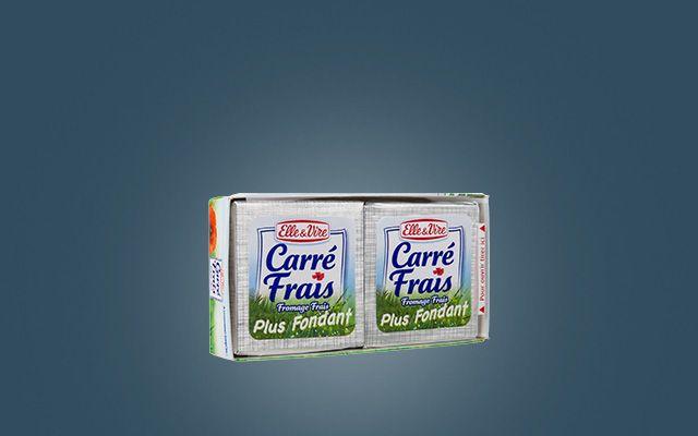 CARRÉ FRAIS D'ELLE & VIRE 2 X 75G : caractéristiques et apports nutritionnels