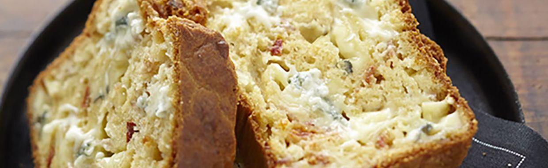 Cake Camembert Jambon