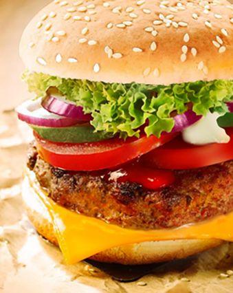 Hamburger maison :  Hamburger paprika au Maroilles