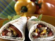 Recette : Tortillas de poulet au fromage frais - Recette au fromage